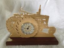 Farmall Tractor Clock