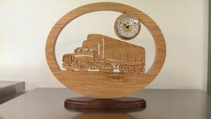 Tractor Trailer Clock