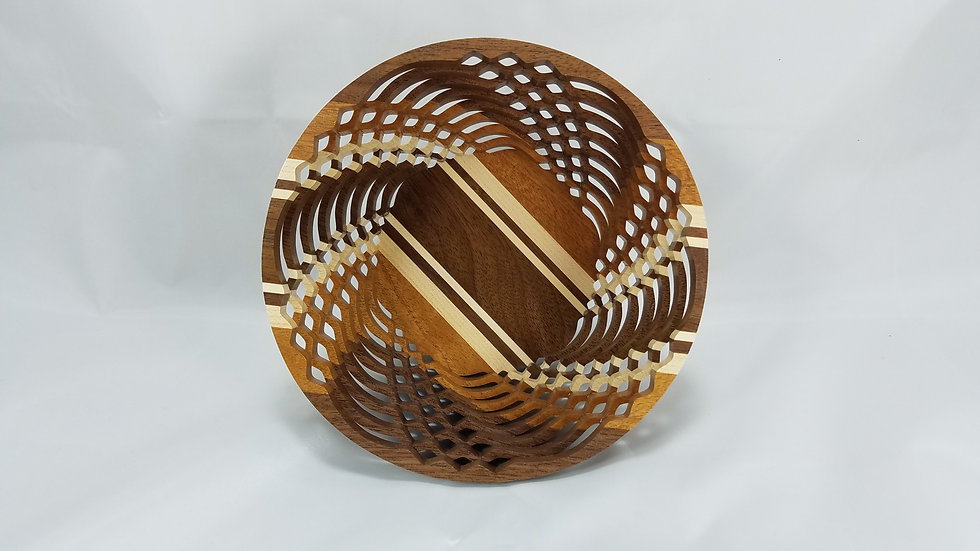 "6"" Premium Mixed Hardwoods Bowl"