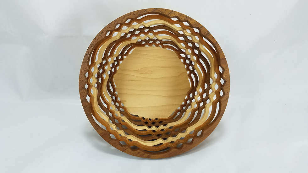 "6"" Layered Ring Bowl"