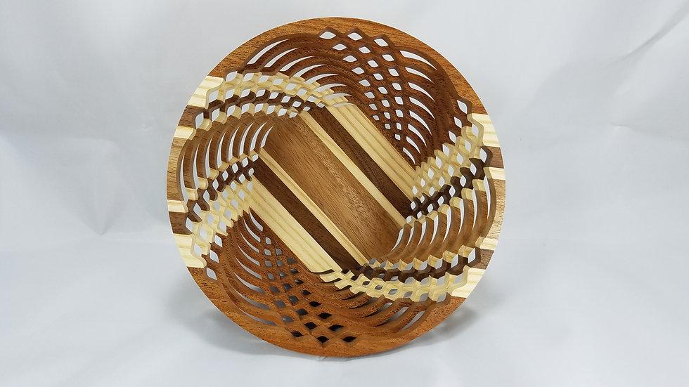 "8"" Premium Mixed Hardwoods Bowl"
