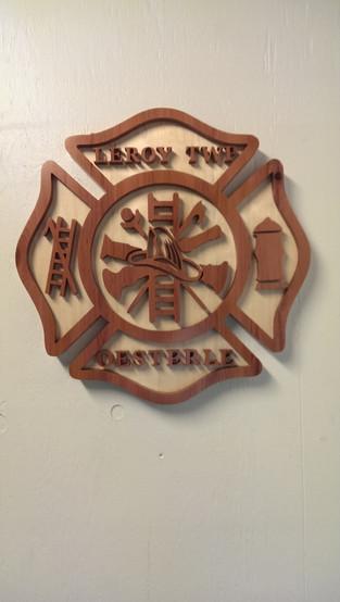 Firefighters Maltese Cross