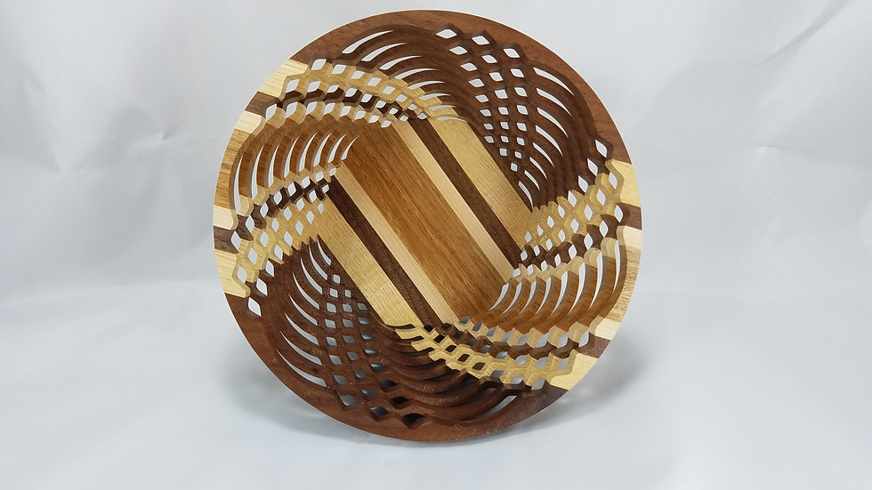 "8"" Premium Mixed Hardwoods Bowl"