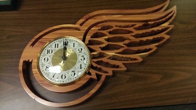 Wing Clock