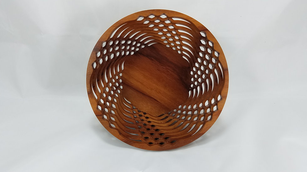 """6"""" African Bubinga Bowl"""