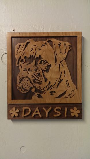 Personalized Boxer Dog