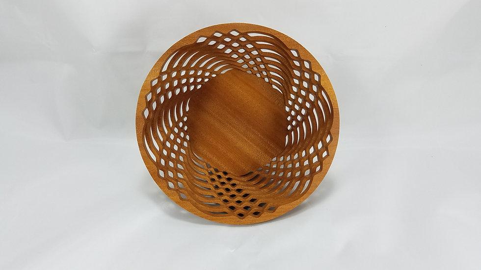 """6"""" African Mahogany Bowl"""