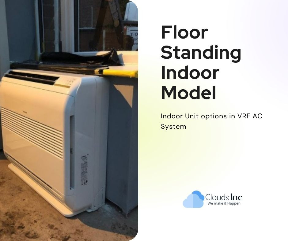 Different VRF AC Indoor options as per the design, layout and comfort air requirements of the resident.