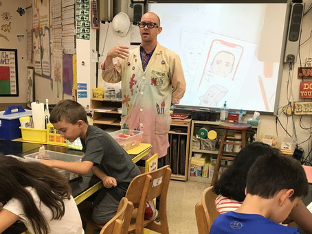 Illinois Art Education Association Names ELEMENTARY ART EDUCATOR OF THE YEAR
