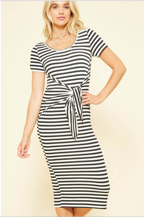 51a187923239 Comfiest dress ever!! This striped dress is so versatile and easy to wear.  Keep it casual with some tennies or dress it up with some heels and a  blazer.