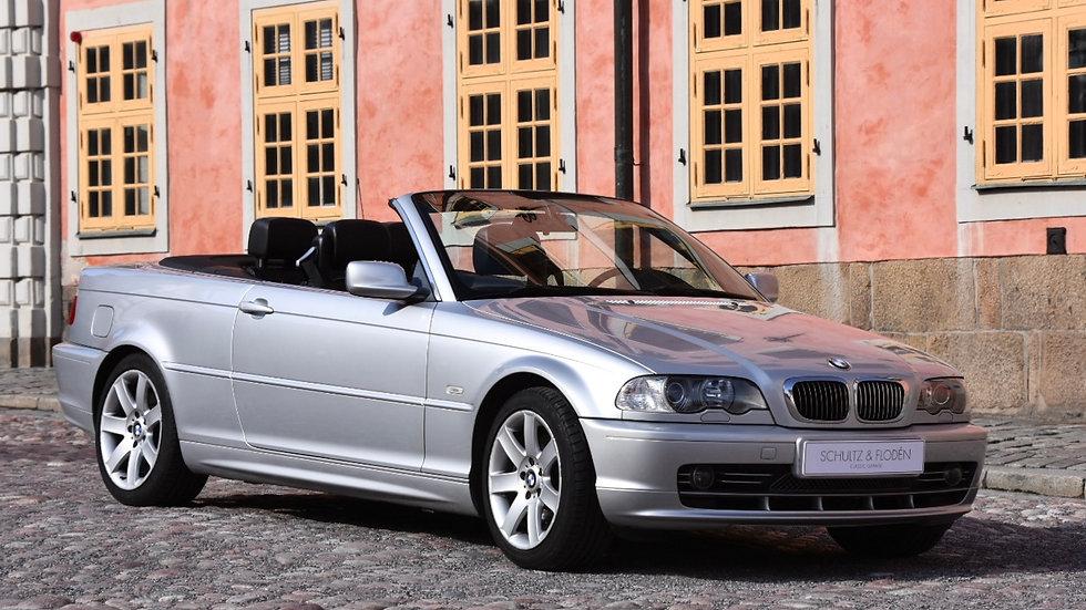 2001 BMW 330i Cabrio