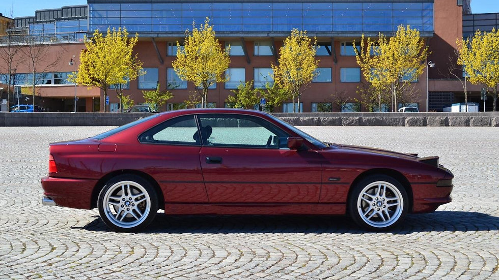 1992 BMW 850 Ci/6-speed manual