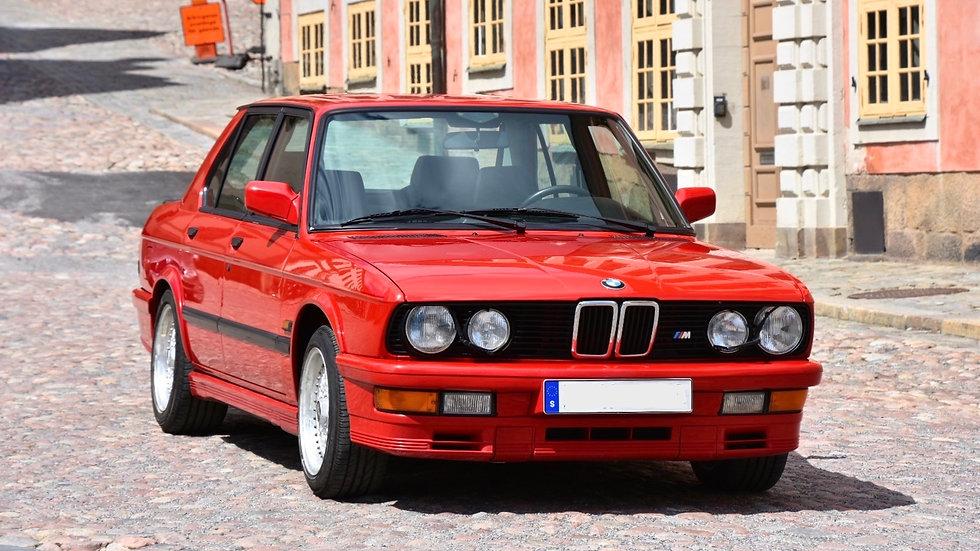 1987 BMW M535i