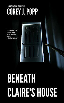 Beneath Claire's House book cover.