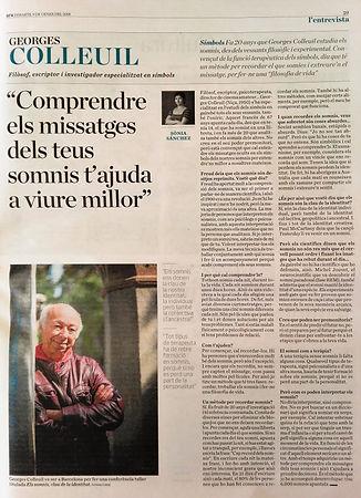 Entrevista a Georges Colleuil diari ARA 9 gener 2018