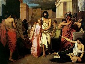 Antigona y Edipo sortint de Tebes.jpg