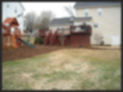 Example of landscaping and lawn care Winston Salem NC