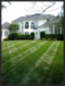 Example of mowing and landscaping Winston Salem NC