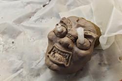 Modelage masque