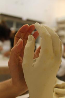 Moulage et tirage de plâtre