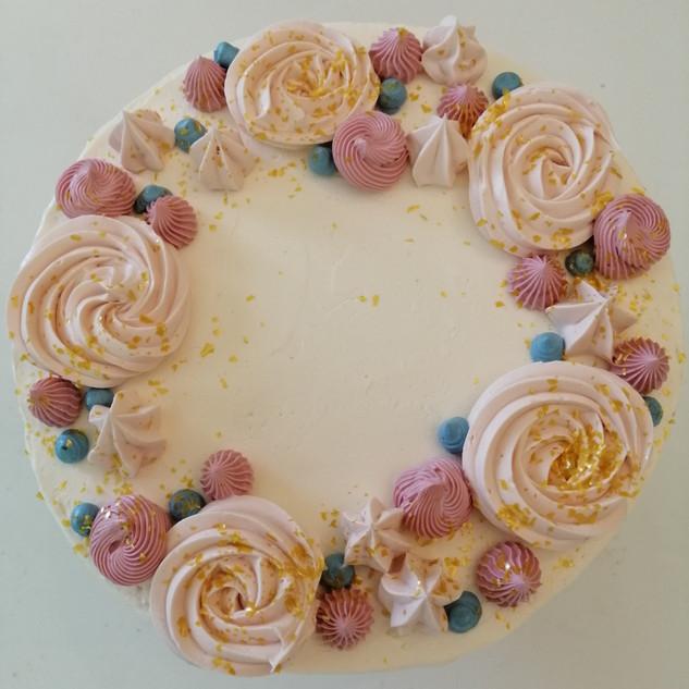 Habcsókos torta