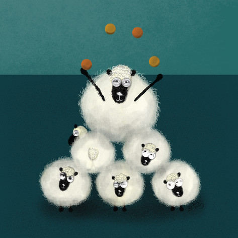 Circus Sheep