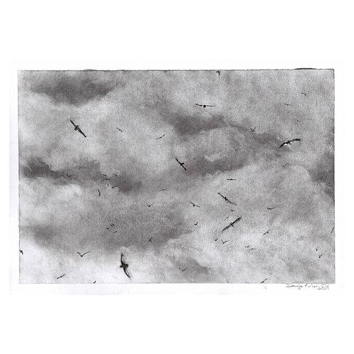 'Free as a Bird'  Signed original.