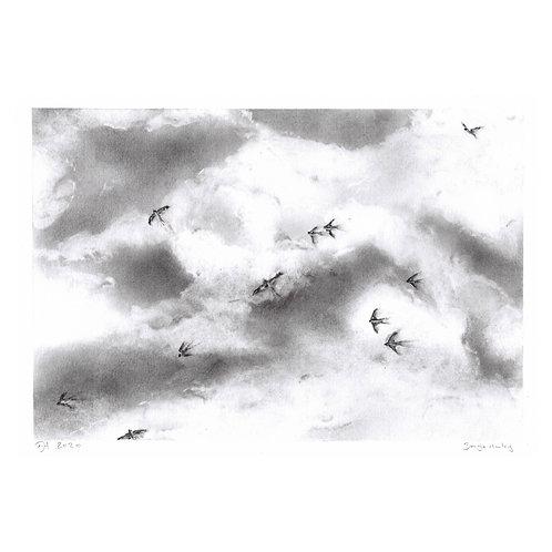 'Swallows'  Signed original.
