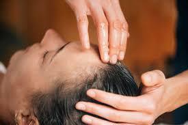Herbal Oil Scalp Massage