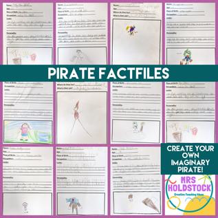 Pirate Factfiles