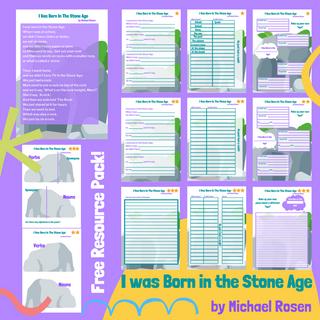 I was born in the Stone age