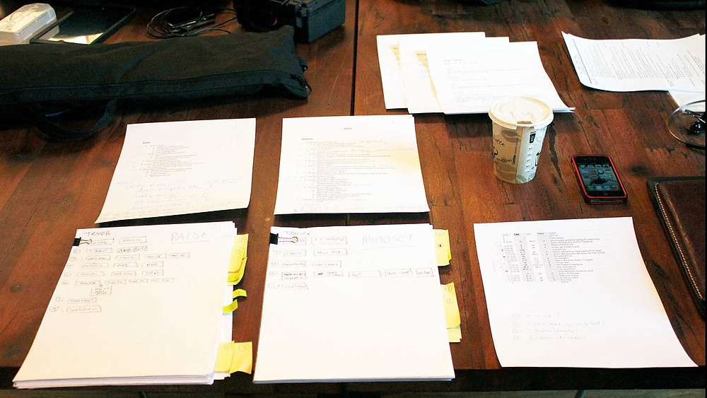 A great course starts with a great script (and maybe some coffee)