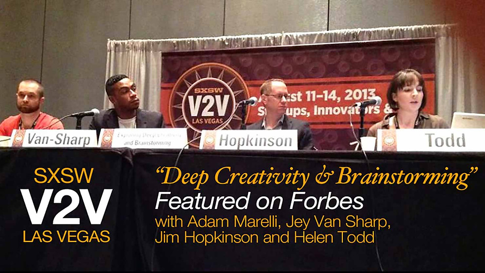 Our SXSW all-star panel in deep creativity mode