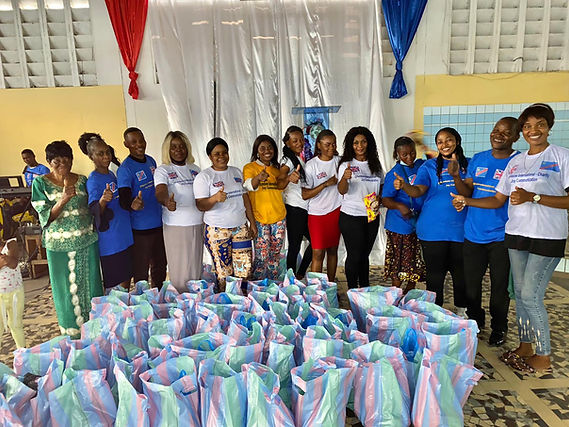 Rainbow International Charity Volunteers