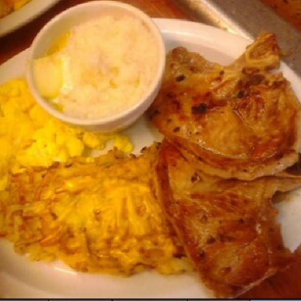 Porkchop Breakfast
