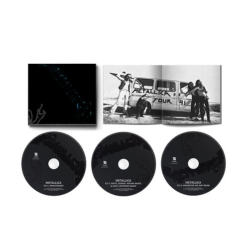 METALLICA - BLACK ALBUM 30TH ANNIVERSARY REMASTERED