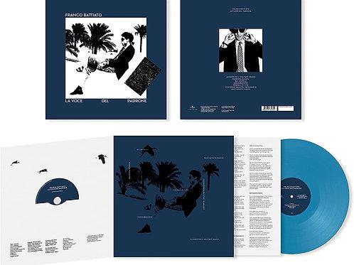 FRANCO BATTIATO - LA VOCE DEL PADRONE 40° ANNIVERSARY LP AZZURRO + CD LIMITED