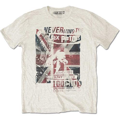 T-shirt Rock on SEX PISTOLS NEVER MIND THE SP
