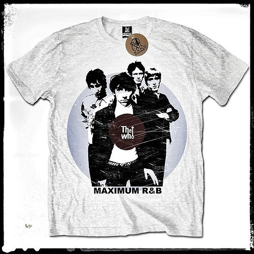 T-shirt THE WHO MAXIMUM R&B