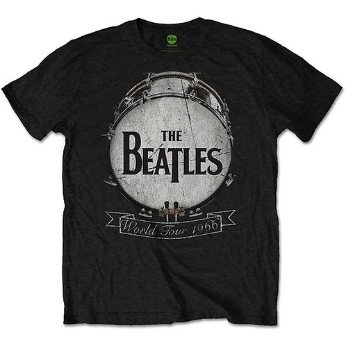 THE BEATLES WORLD TOUR 1966 - T-SHIRT