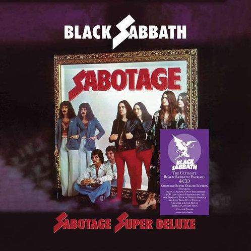 BLACK SABBATH - SABOTAGE SUPER DELUXE EDITION
