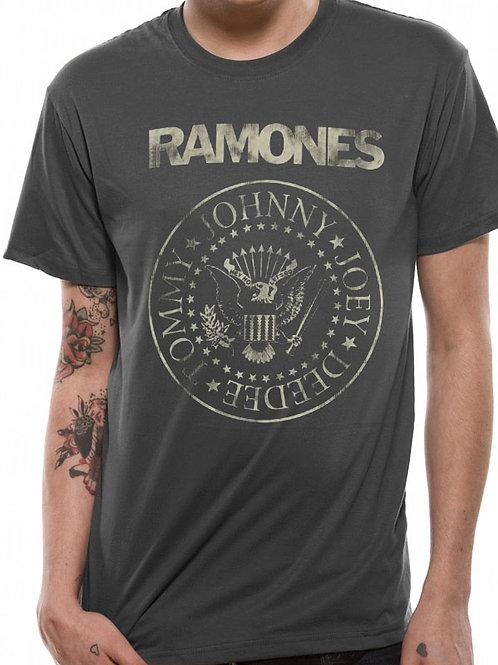 T-shirt RAMONES CREST