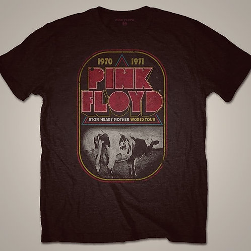 T-shirt PINK FLOYD ATOM HEART MOTHER TOUR