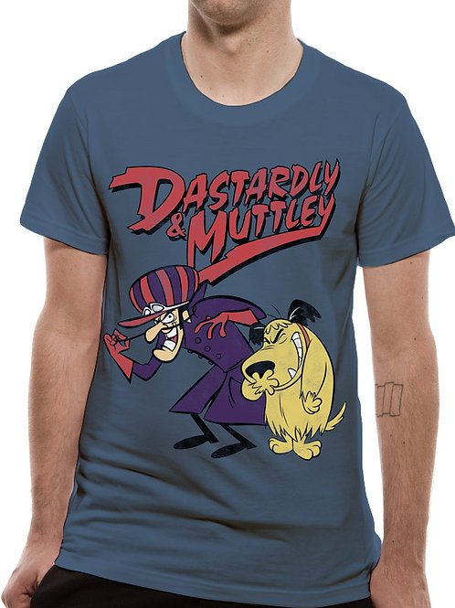 T-shirt DASTARDLY & MUTTLEY WACKY RACES