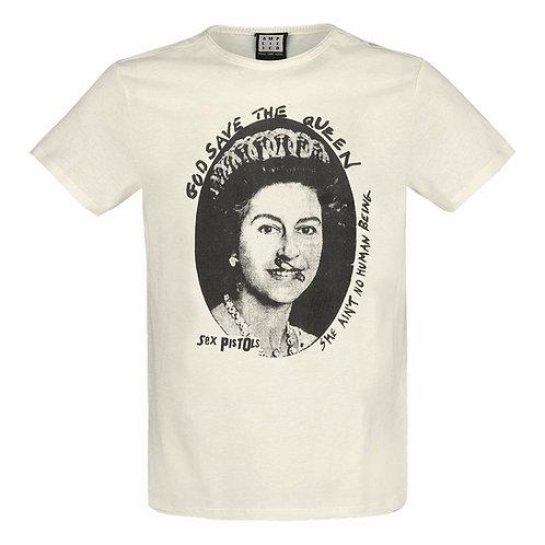 T-shirt AMPLIFIED SEX PISTOLS Vintage White