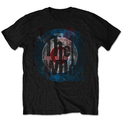 T-shirt THE WHO TARGET