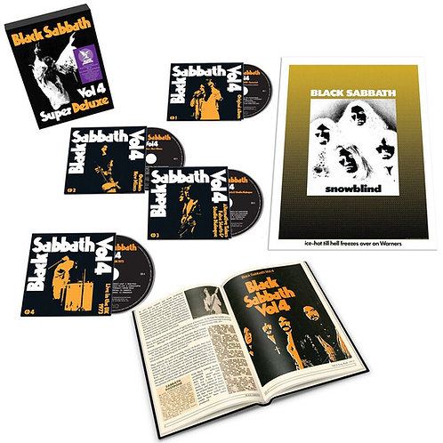 BLACK SABBATH - VOL. 4 SUPER DELUXE