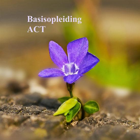 Basisopleiding ACT, start 21/01/2022