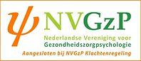 Aangesloten bij NVGzP-Klachtenregeling