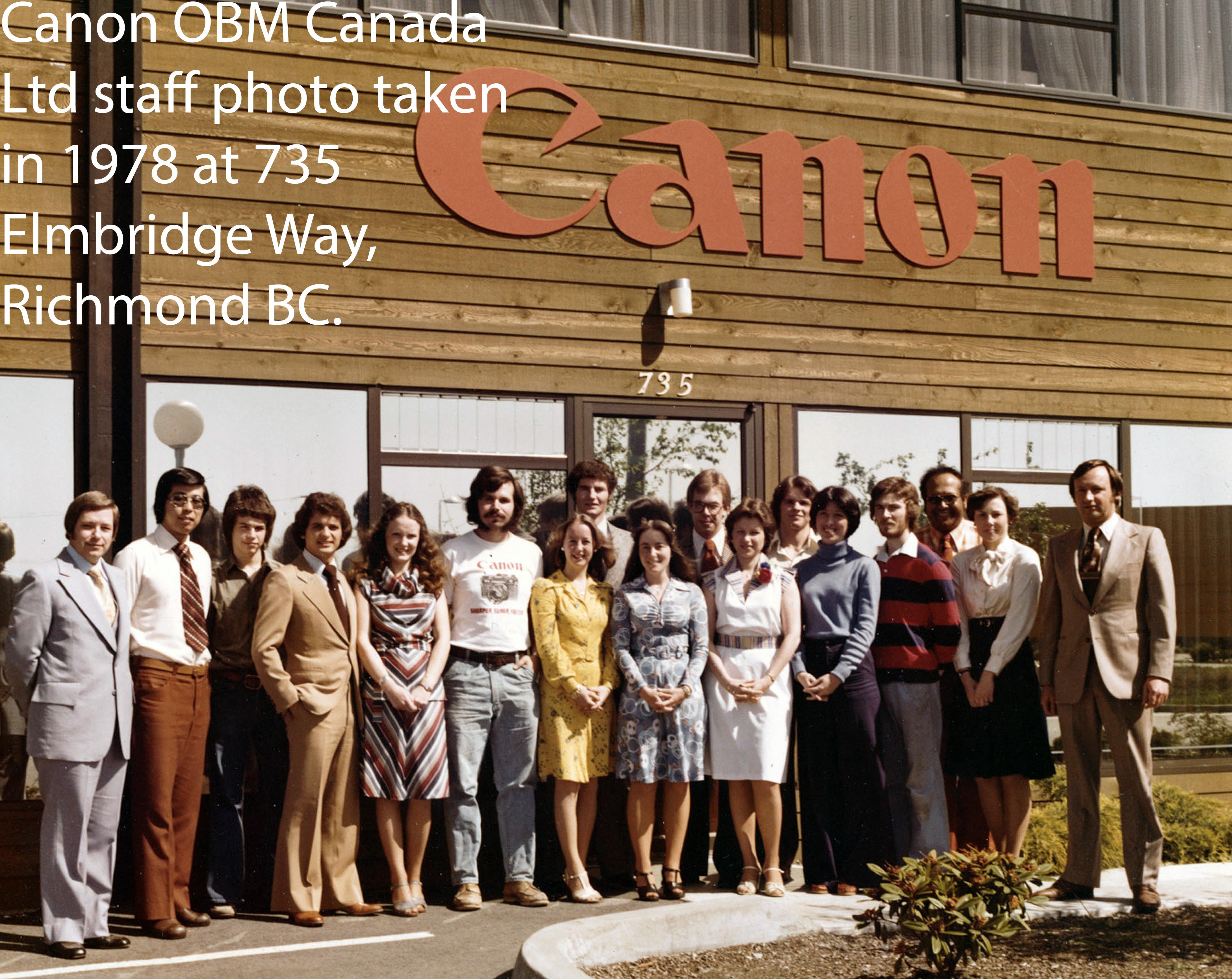 Canon Van group elmbridge wix
